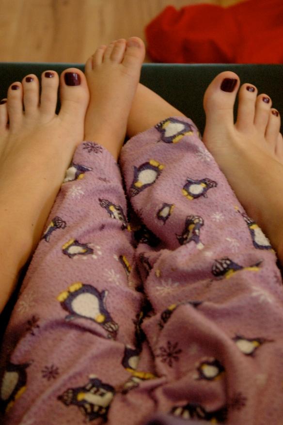 Purple Toes- Purple PJ's