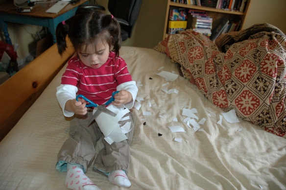 Paper Massacre as Happy Craft Time